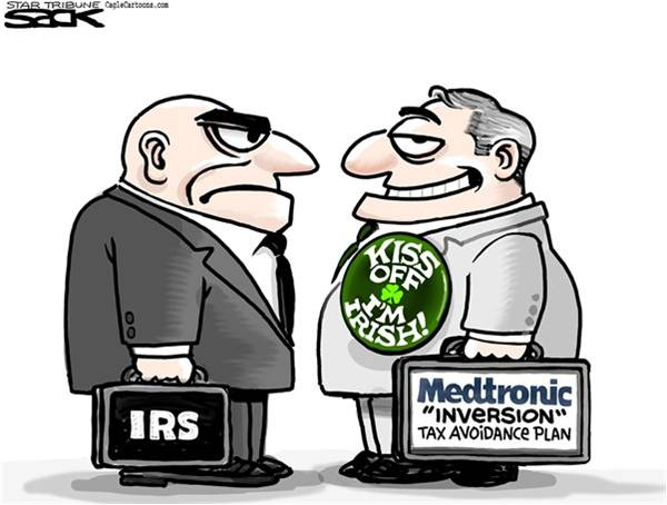 IRS and Medtronic