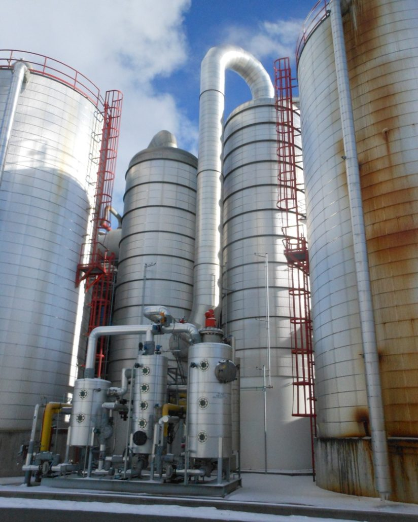 ethanol plant reduced